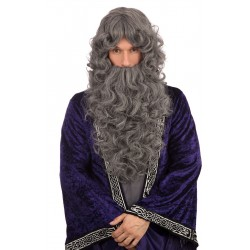 Dark Grey Wizard Wig