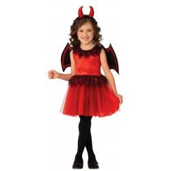 Girls Devil Costume