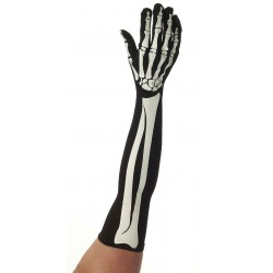 Skeleton Elbow Gloves