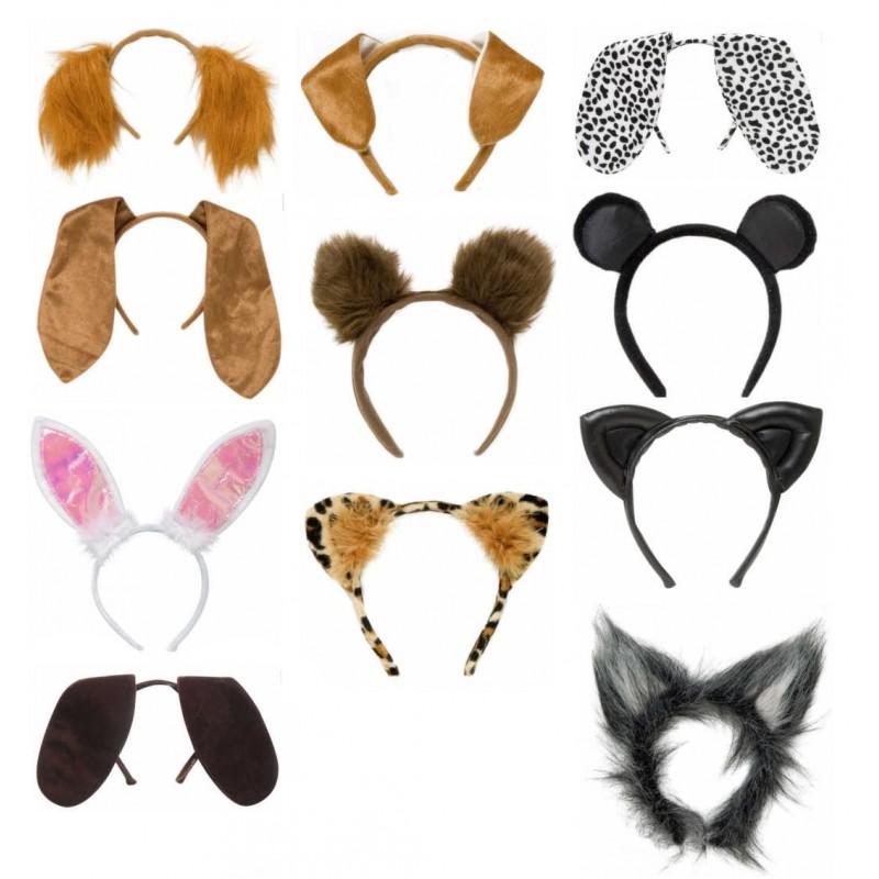 Animal Ears Head-Band