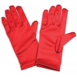 Red Childrens Gloves