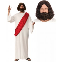Jesus Robe with Optional Wig