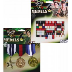 Military Medals and Ribbons