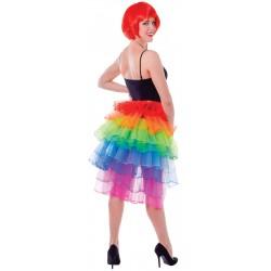 Rainbow Pride Bustle Skirt
