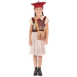 Evacuee Schoolgirl