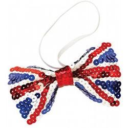 Union Jack Bow Tie