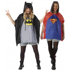 Batman / Spiderman Shower Proof Poncho