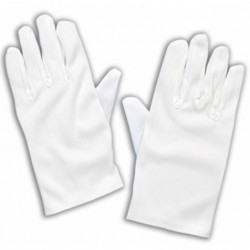 White Child Gloves