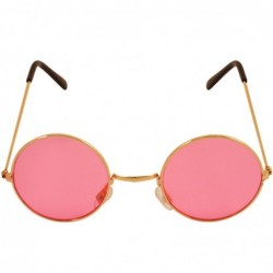 Round Glasses Pink