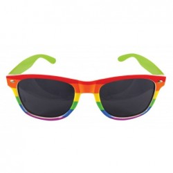 Rainbow Dark Lens Glasses