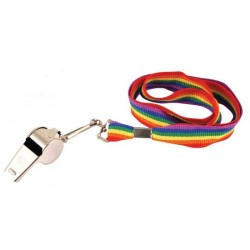 Rainbow Cord Whistle