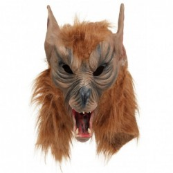 Brown She Wolf Mask