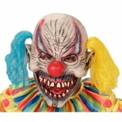 Maleficient Clown Mask